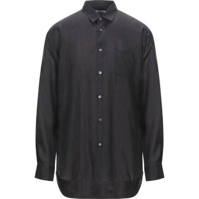 コム デ ギャルソン COMME des GARCONS SHIRT メンズ シャツ トップス solid color shirt Black