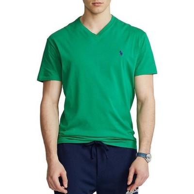 ラルフローレン メンズ シャツ トップス Classic-Fit Short-Sleeve V-Neck Tee