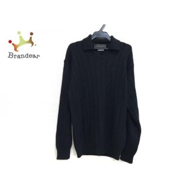 サルバトーレフェラガモ SalvatoreFerragamo 長袖セーター サイズS メンズ - 黒   スペシャル特価 20210423
