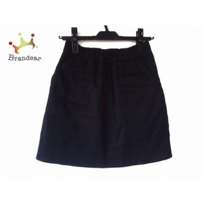 ダブルスタンダードクロージング DOUBLE STANDARD CLOTHING スカート サイズ36 S レディース 黒  スペシャル特価 20210313