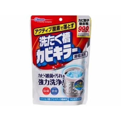 アクティブ酸素で落とす 洗たく槽カビキラー 粉末250g ジョンソン