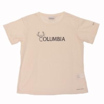 Columbia コロンビア PL3180 レディースTシャツ ゆうパケット対応商品 SEA SALT/M