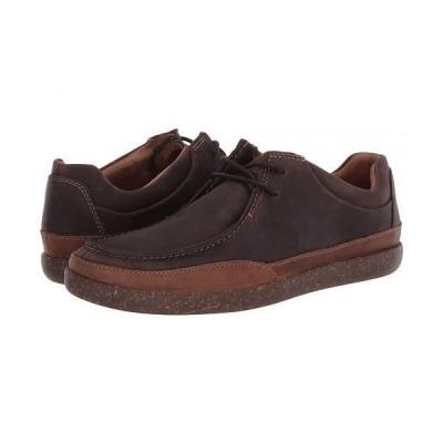 Clarks クラークス メンズ 男性用 シューズ 靴 オックスフォード 紳士靴 通勤靴 Un Lisbon Walk - Brown Oily Leather