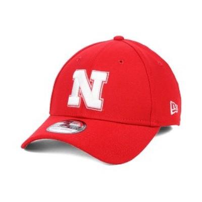 ニューエラ メンズ 帽子 アクセサリー Nebraska Cornhuskers College Classic 39THIRTY Cap Red