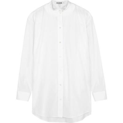 ジル サンダー Jil Sander レディース ブラウス・シャツ トップス Wednesday White Cotton Shirt White