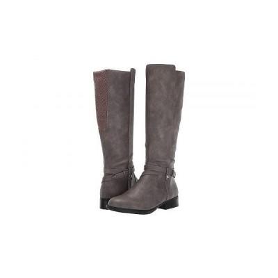 LifeStride ライフストライド レディース 女性用 シューズ 靴 ブーツ ロングブーツ Xtrovert - Grey