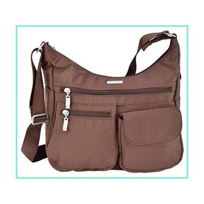 【新品】Baggallini Everywhere Lightweight Crossbody Bag - Multi-Pocketed, Spacious Water-Resistant Travel Purse with RFID Wristlet(並行輸入