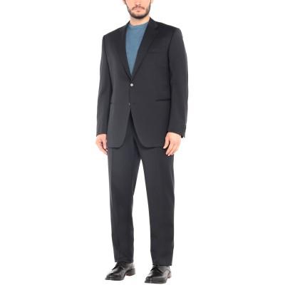 TOMBOLINI スーツ ダークブルー 56 バージンウール 100% スーツ