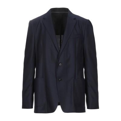 ZZEGNA テーラードジャケット ダークブルー 56 ウール 100% テーラードジャケット