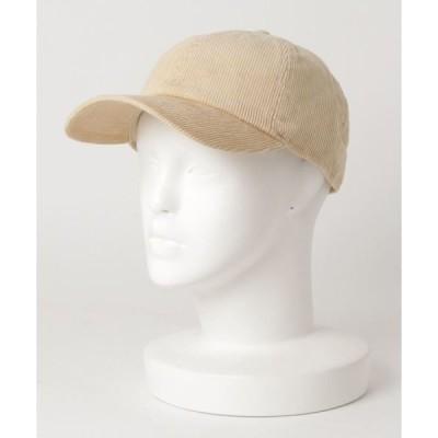 帽子 キャップ 【NEWHATTAN/ニューハッタン】(UN)コーデュロイ キャップ