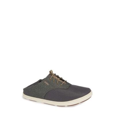 オルカイ スニーカー シューズ メンズ Nohea Moku Sneaker Charcoal/ Clay Textile