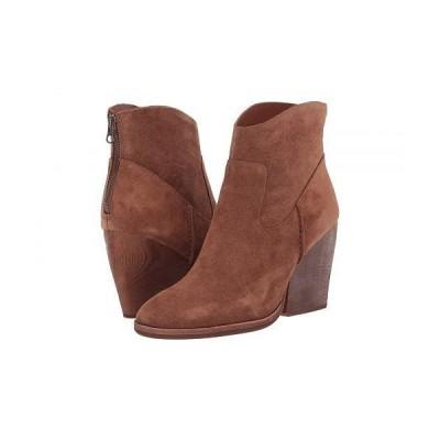 Kork-Ease コークイーズ レディース 女性用 シューズ 靴 ブーツ アンクルブーツ ショート Lapra - Brown Suede