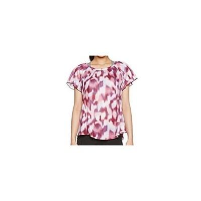 ミズノ MIZUNO ランニングTシャツ ウィメンズ J2MA5701 61 パーシモンレッド L