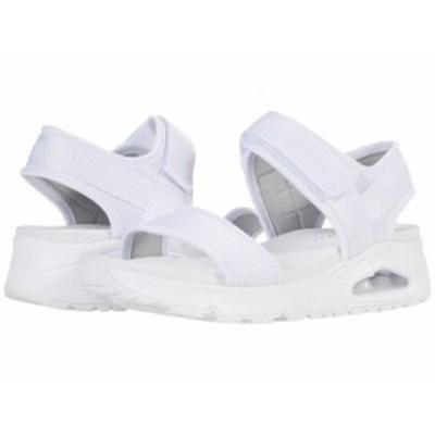 SKECHERS スケッチャーズ レディース 女性用 シューズ 靴 サンダル Uno New Sesh White【送料無料】