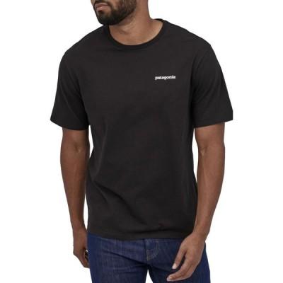 パタゴニア PATAGONIA メンズ Tシャツ トップス P-6 Logo Organic Cotton T-Shirt Black