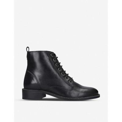 カーベラ CARVELA レディース ブーツ ショートブーツ シューズ・靴 Spike patent leather ankle boots BLACK