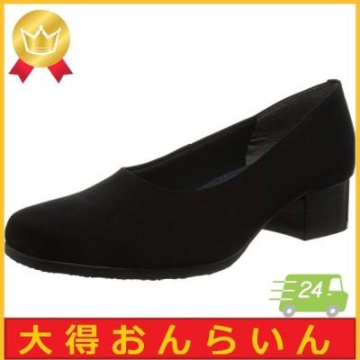 [メイダイ] 布製パンプス ブラックフォーマル 足が楽な布製フォーマルパンプス レディース ブラック