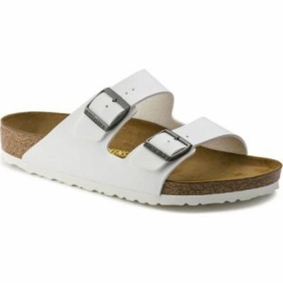 ビルケンシュトック Birkenstock レディース サンダル・ミュール シューズ・靴 arizona narrow width sandals White Birko Flor
