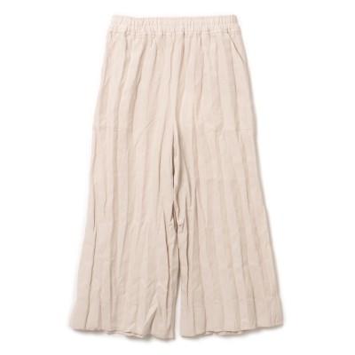 ACNE STUDIOS(アクネ ストゥディオズ)/Crinkled-linen culottes