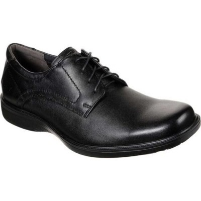 スケッチャーズ Skechers メンズ 革靴・ビジネスシューズ シューズ・靴 Nelcen Kepton Oxford Black