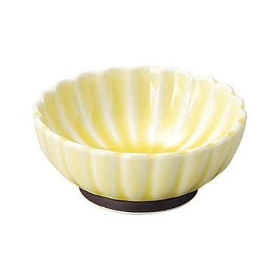姿月窯 かすみ 黄 7cm浅小鉢 和食器 小鉢 日本製 業務用 65-56165090