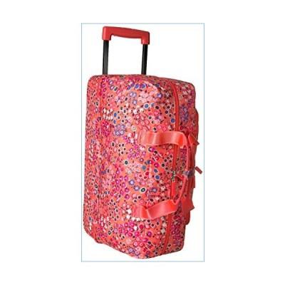 Vera Bradley Women's Lighten Up Wheeled Duffle Carry-On Luggage, Coral Meadow並行輸入品
