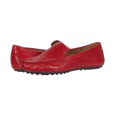 Aerosoles エアロソールズ レディース 女性用 シューズ 靴 ローファー ボートシューズ Over Drive - Red Leather