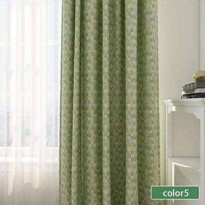 ドレープカーテン 遮光 花柄 子供部屋 可愛い お得なサイズ 送料無料幅60cm〜150cm丈60cm〜260cm