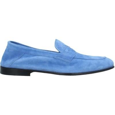 ポリーニ POLLINI メンズ ローファー シューズ・靴 loafers Pastel blue