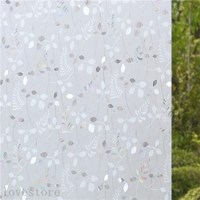窓用 ウィンドウフィルム 200x90cm 遮光 窓シート 無接着剤 花柄 貼ってはがせる 遮光 再利用可能 uvカット おしゃれ