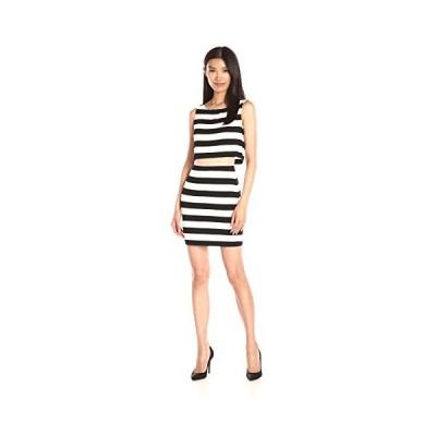 ベイリー 44 レディース Vasarely ドレス, ブラック/Chalk, スモール(海外取寄せ品)