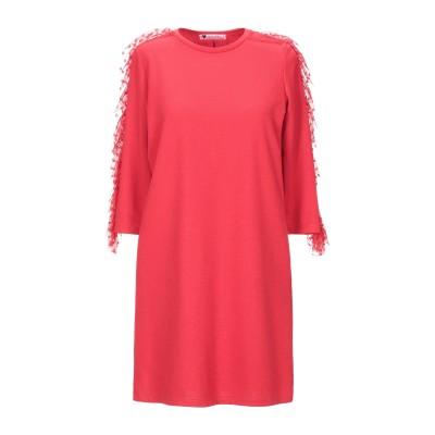 LES TRUE FOLIES ミニワンピース&ドレス レッド S ポリエステル 95% / ポリウレタン 5% ミニワンピース&ドレス