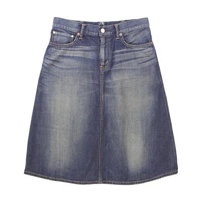 caqu[サキュウ]デニム  FS Aラインスカート 25004