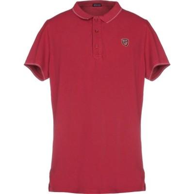 ブラウアー BLAUER メンズ ポロシャツ トップス polo shirt Brick red