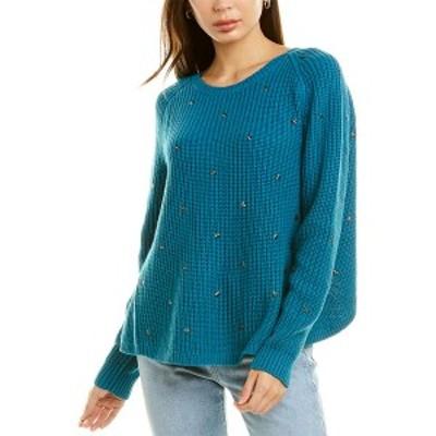 ワイルドフォックス レディース ニット&セーター アウター Wildfox Beaming Star Sweater tide