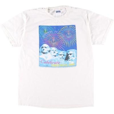 90年代 TULTEX プリントTシャツ レディースXL /eaa042115