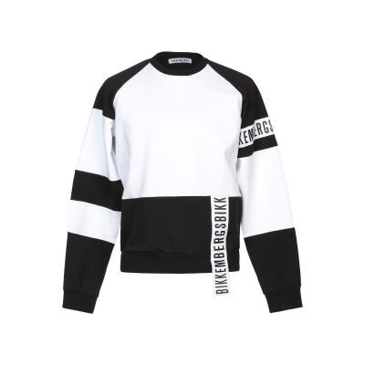 ビッケンバーグ BIKKEMBERGS スウェットシャツ ホワイト XS コットン 95% / ポリウレタン 5% スウェットシャツ
