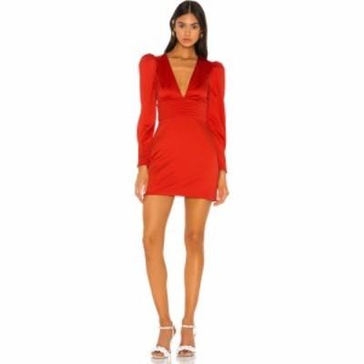 カミラ コエーリョ Camila Coelho レディース ワンピース ミニ丈 ワンピース・ドレス Gylda Mini Dress Carmin Orange