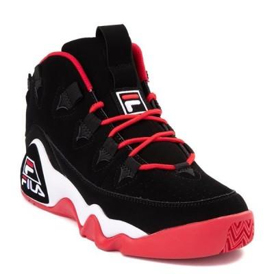 Fila(フィラ)ハイカット スニーカー シューズ Grant Hill 1 Athletic Shoe Black×Red グラントヒル1 バスケ バスケットボール HIPHOP ヒップホップ スポーツ