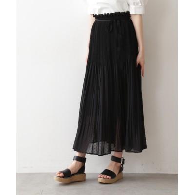 FREE'S MART / 【Sシリーズ対応】◆カットドビードットランダムプリーツスカート WOMEN スカート > スカート