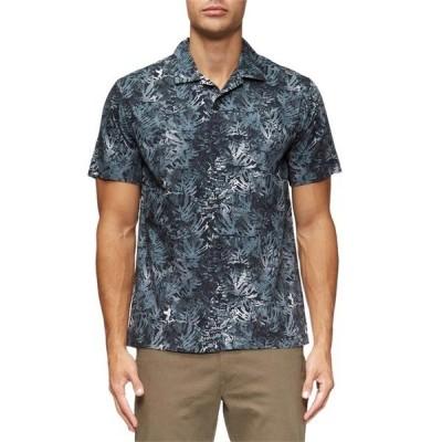 タビック メンズ シャツ トップス Villa Palms Short-Sleeve Shirt