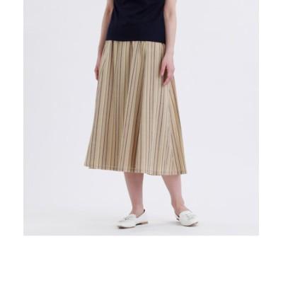 GREY LABEL マルチストライプギャザースカート