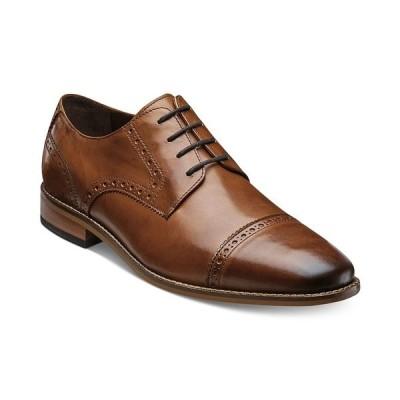 フローシャイム オックスフォード シューズ メンズ Men's Marino Cap-Toe Oxfords,  Saddle Tan