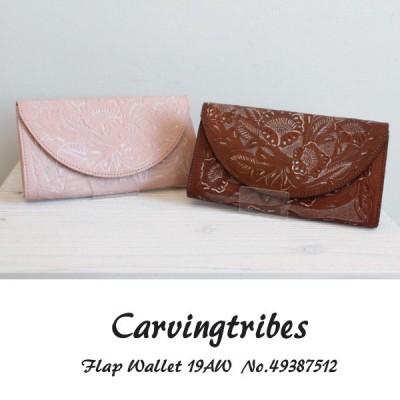 SALE 49387512 Flap Wallet グレースコンチネンタル カービングシリーズ,GRACECONTINENTAL carvingtribes カービングトライブス 送料無料