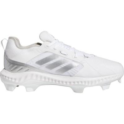 アディダス adidas レディース 野球 スパイク シューズ・靴 Purehustle TPU Softball Cleats White/Silver