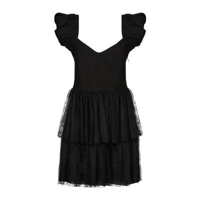 ピンコ PINKO ミニワンピース&ドレス ブラック 44 ナイロン 100% / コットン ミニワンピース&ドレス