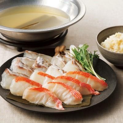 愛媛海産 〈愛媛海産〉真鯛と金目鯛のしゃぶしゃぶ