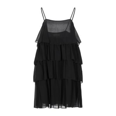 VICOLO ミニワンピース&ドレス ブラック M ポリエステル 100% ミニワンピース&ドレス