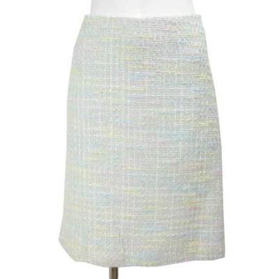 ハロッズ Harrods パステル ツィード スカート 1
