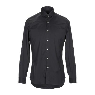 アティピコ AT.P.CO シャツ ブラック 41 コットン 97% / ポリウレタン 3% シャツ